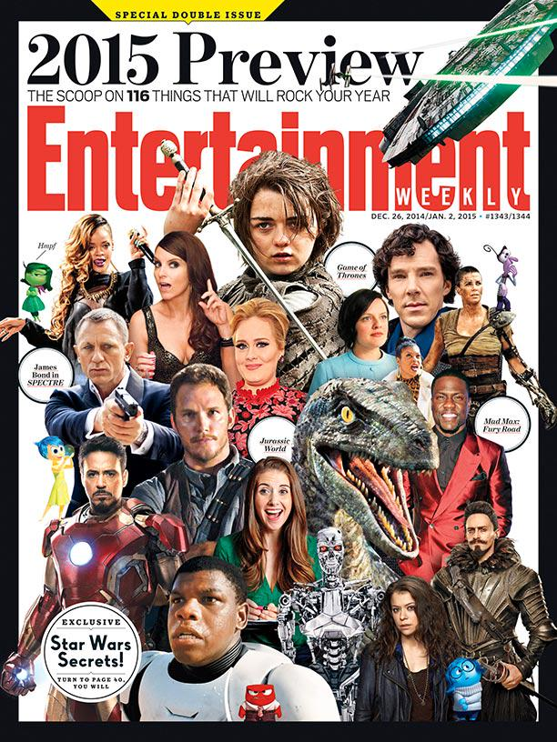ICYMI: This week's issue has the scoop on the 116 things you'll talk about most in 2015: