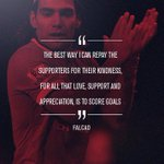 United striker @Falcao starts today and he has just one thing in mind... #mufclive http://t.co/FjICl8ABxg