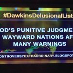 GODS PUNITIVE JUDGMENT ON WAYWARD NATIONS AFTER MANY WARNINGS.  #DawkinsDelusionalList http://t.co/e0SdTTJSWW