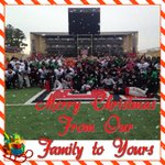 The Red Wolves Football Family wishes everyone a safe and Merry Christmas! #AlwaysRising #Family http://t.co/aw7QKNJwf5