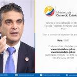 Min. Francisco Rivadeneira hoy en el #Enlace403 sígalo por: http://t.co/pgu4ejS44e #OportunidadUE http://t.co/bhc4x4H37E