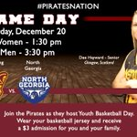 GAMEDAY ! Last games of 2014 for your Pirates. Come out and show your support ! http://t.co/HSjdejNsYc