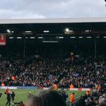 4,000 Sheffield Wednesday fans at Fulham today #swfc #fulhamfc #awaydays http://t.co/7r3qF2dFWJ