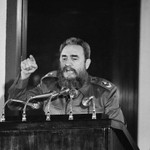 """""""love letter to Castro reminds us how divided the American Left was during the Cold War."""" http://t.co/oTnTZiNB5J http://t.co/sD6Z5wepLB"""