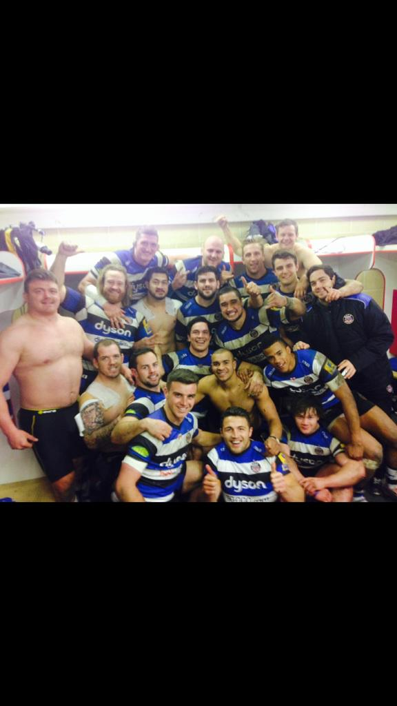 What a night, doesn't get better than a record win to Gloucester. Looking ripped Davey #derbyday #bath #daveysdarb http://t.co/lUAuxSLu1s
