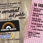 Demà els nostres disquets giraran a #Almenar al vermut organitzat pel jovent del poble i en benefici x la #maratotv3 http://t.co/TpCSH6sQ3T