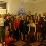 Brilliant Christmas party with the Purple Agency team #purplepeopleparty #christmasparty http://t.co/OtKtCuC9qW