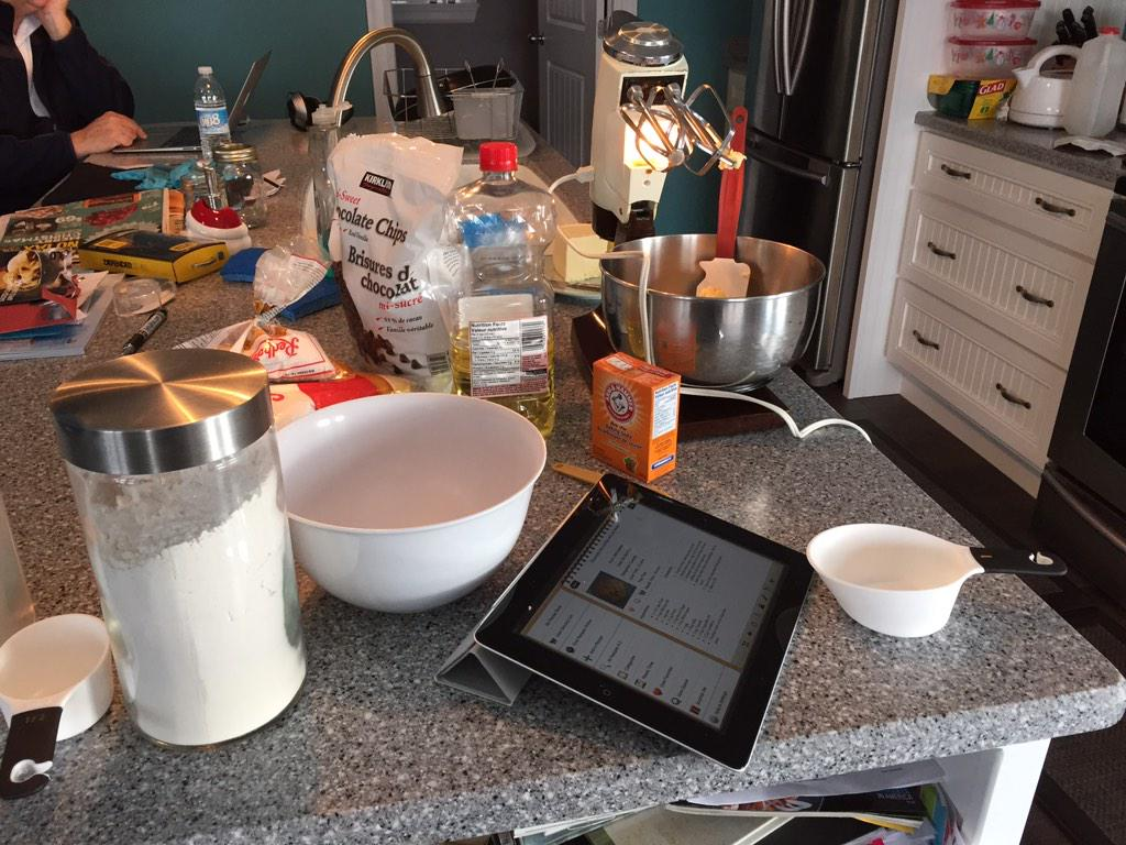 Time to make a million cookies! :) http://t.co/8UeP2MuK0X
