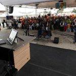 #Enlace403 se realiza en San Juan de Calderón-Quito con el Presidente @MashiRafael http://t.co/F9KjUuISZK