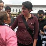 Ministra #CarinaVance en la #Campaña #VacunaciónInfluenza desde la plaza #SantoDomingo #Quito #Salud http://t.co/u2m1K6MtjW