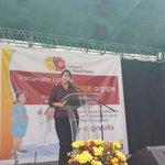 Ministra de @Salud_Ec lanza campaña de vacunacion #influenza en #PlazaSantoDomingo en #Quito http://t.co/qUoTHtlx70