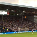 4,000 Sheffield Wednesday fans at Fulham today, the biggest in the country this weekend. #SWFC @swfc http://t.co/p8bEoyLFzL
