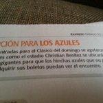 Hinchas de @emelec podrán disfrutar el partido del Domingo en el Estadio Christian Benitez @Expresoec http://t.co/LIT3QgMN4N