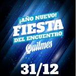 Dale RT a esta imagen y participá por entradas para la Fiesta Quilmes de Año Nuevo!! https://t.co/bgsGhZqlC2