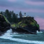 Gorgeous photo shared by photographer and #LiveOnKOMO viewer Kevin Russell of Cape Disappointment >> http://t.co/G4bMFd8H1t