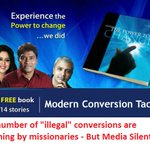 Missionary converts crores of Hindus-Media MUM It targets only Hindus Gharwapsi #SecularConversions http://t.co/NaYzipy1no