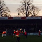 Best pic Ive ever taken at Whaddon Road. Love it. #ctfc #santa #pitchinvasion http://t.co/iTDLNERjQd