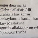 Todo Ecuador respalda a @GabrielaEsPais los del pasado no volverán #PrensaCorrupta #OposicionTrucha http://t.co/OMyF8LLsRY