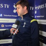 "Mauricio: ""They were a very physical team. We played very well."" #COYS http://t.co/uqRwtfqHQ6"