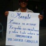 Esto no es pagado es pueblo organizado Ecuador con @GabrielaEsPais #PrensaCorrupta #OposicionTrucha http://t.co/zLegyOK36h