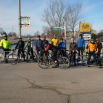 17 souls grinding the trails & roads of Waterloo Region.  Thanks to ride leaders  @steveshik & @gaelenapois http://t.co/IwxuNrjnko
