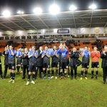 SNAPSHOT: The whole #afcb squad & coaching staff thank the travelling fans: http://t.co/xN4g9BY2ra #BFCvAFCB http://t.co/wKfb9E6SAB