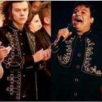 Ese momento en que la Diva le robó el traje a Juan Gabriel #WeAreAllHarry http://t.co/l3jkKUrXPq