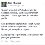 Thanks for info Doc @Jasskhuzairi. So long, Indra. http://t.co/0aEm7cKbZ8
