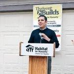 Mayor Garcia joined @HabitatLA for their 75th Home build in @LongBeachCity #golongbeach http://t.co/QH0KeSvI5O
