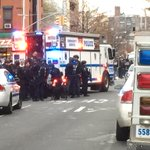 MORE: Suspect reportedly ambushed 2 #NYPD officers as they sat in patrol car http://t.co/36I02NkB8H http://t.co/wXGJGhw068