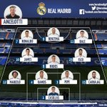 REAL MADRIDS STARTING XI AGAINST SAN LORENZO: http://t.co/9LN4OnXJs2