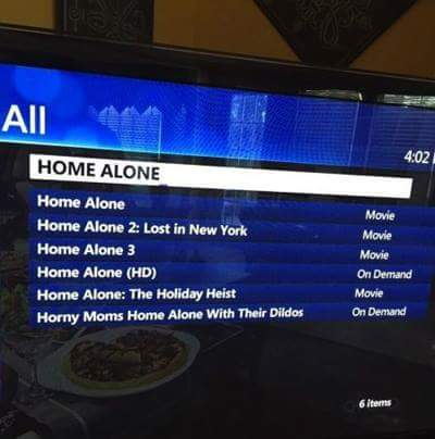 Erm, I don't think I've seen the last Home Alone movie?