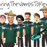 Who wants @TheVampsband in Mexico?? #VampsWorldTour2015 http://t.co/93CMk6998a