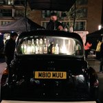 Excellent cocktails from a #London black cab at Canada Water Night Market - love it! @BlackCab_Coffee #SE16 http://t.co/sNGIKUon1e