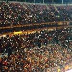 FOTO | Umut Bulutun golünden sonra TT Arena tribünleri! http://t.co/FGur4nNpJL
