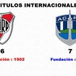 Que feo que un equipo de mochileros y fundado 100 años despues, tenga mas titulos internacionales que vos. http://t.co/YlgYYT1v40