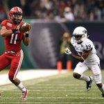 Bowl season is underway! UL-Lafayette beats Nevada in R+L Carriers New Orleans Bowl, 16-3. http://t.co/ueB2qEevb5