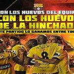 Conviertan gritos en silencio!!! Por Uds... por nosotros... a dejar la vida en la cancha @BarcelonaSCweb http://t.co/Bn3imrkC0H