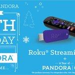 Day 6: @RokuPlayer stick a steppin' + Pandora One! RT for a chance to win #12DaysofPandora http://t.co/SCxPjxjrNZ