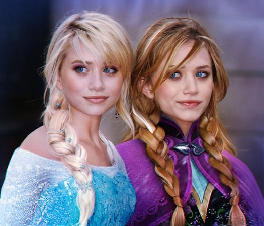 If Mary-Kate and Ashley were Elsa and Anna #Frozen http://t.co/SDO1Zv8Xsr