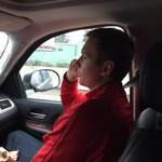 Headed back to Corvallis to pack, @Coach_Bray on the phone with a big recruit! #PhoneWork #GBR http://t.co/54JDMg7rAY