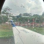 Así despide #Lahinchadamáslindadelmundo el avión que va rumbo al título #DIMxlaSexta http://t.co/4ihx8a8RwX