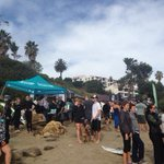 Leadbetter beach looks more like Hawaii surf contest @KEYTNC3 @LakeyPeterson surf competition http://t.co/sXxwt5buSZ