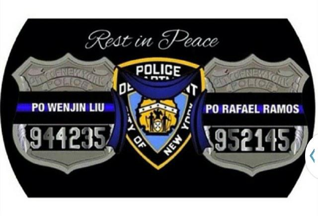 RT @NYPD72Pct: Rest in Peace PO LIU and PO RAMOS.Both made the ultimate sacrifice .Their Families are always in our prayers. http://t.co/TE?