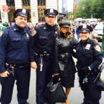 """""""@REALStaceyDash: I love the #NYPD! #Heroes @NYPDnews #ThinBlueLine http://t.co/1rnITYMitu"""" are you dumb? are you stupid? are you an idiot?"""