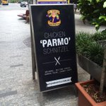 @nikkiscottsmith has suggested I try the Parma here #parma #Brisbane http://t.co/T0143mjiQ2