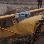 Aterriza de emergencia avioneta en Parque Industrial de Tijuana http://t.co/DaS5DEJOnz http://t.co/8QdaoPs4Xo
