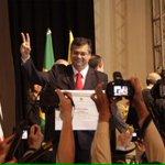 Momento especial: o recebimento do diploma de governador do Maranhao. Símbolo de um novo ciclo político > http://t.co/OyFaaXa5Sj