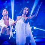 Caroline Flack, the first person in Strictly history to get perfect marks in a #scdfinal #scd http://t.co/h0KxJlxaSu