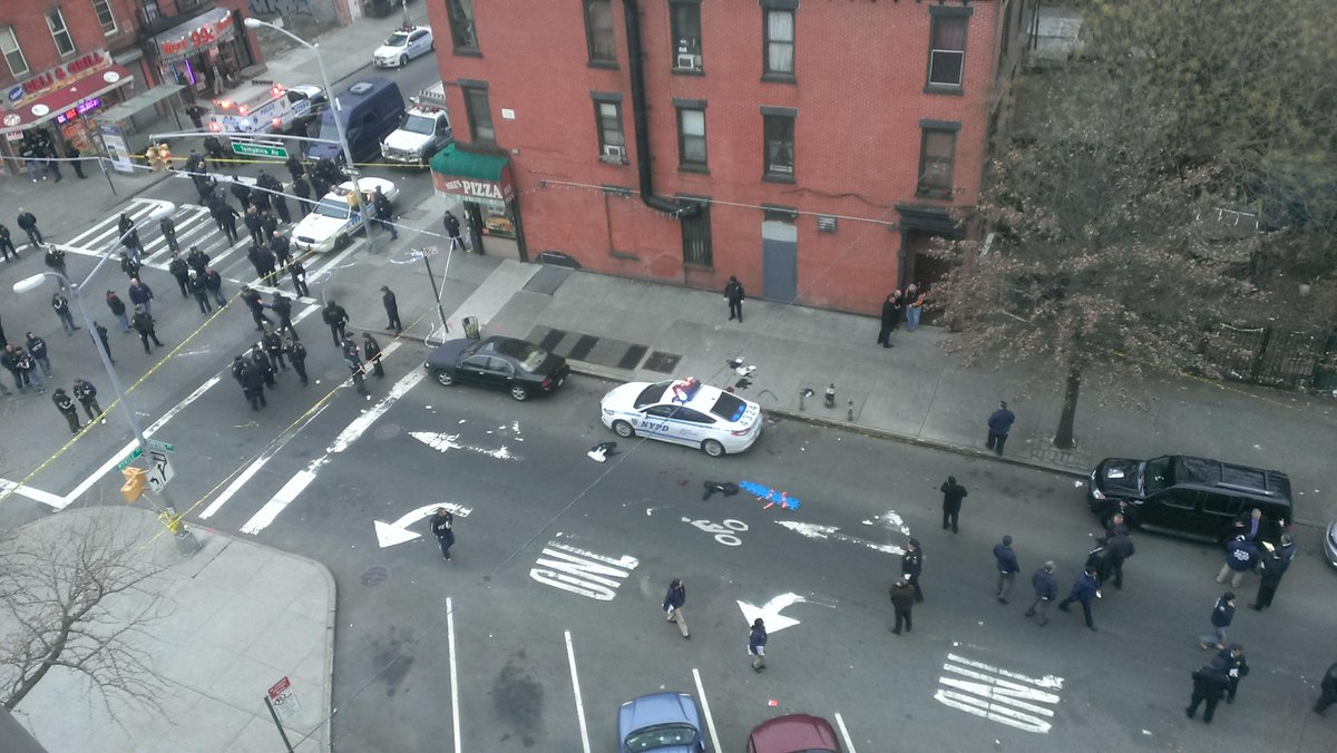 JUST IN: Two police officers shot in Brooklyn have died http://t.co/8hM9rfKaGV http://t.co/8Y7V4T5nMp